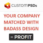 Custom PSDs